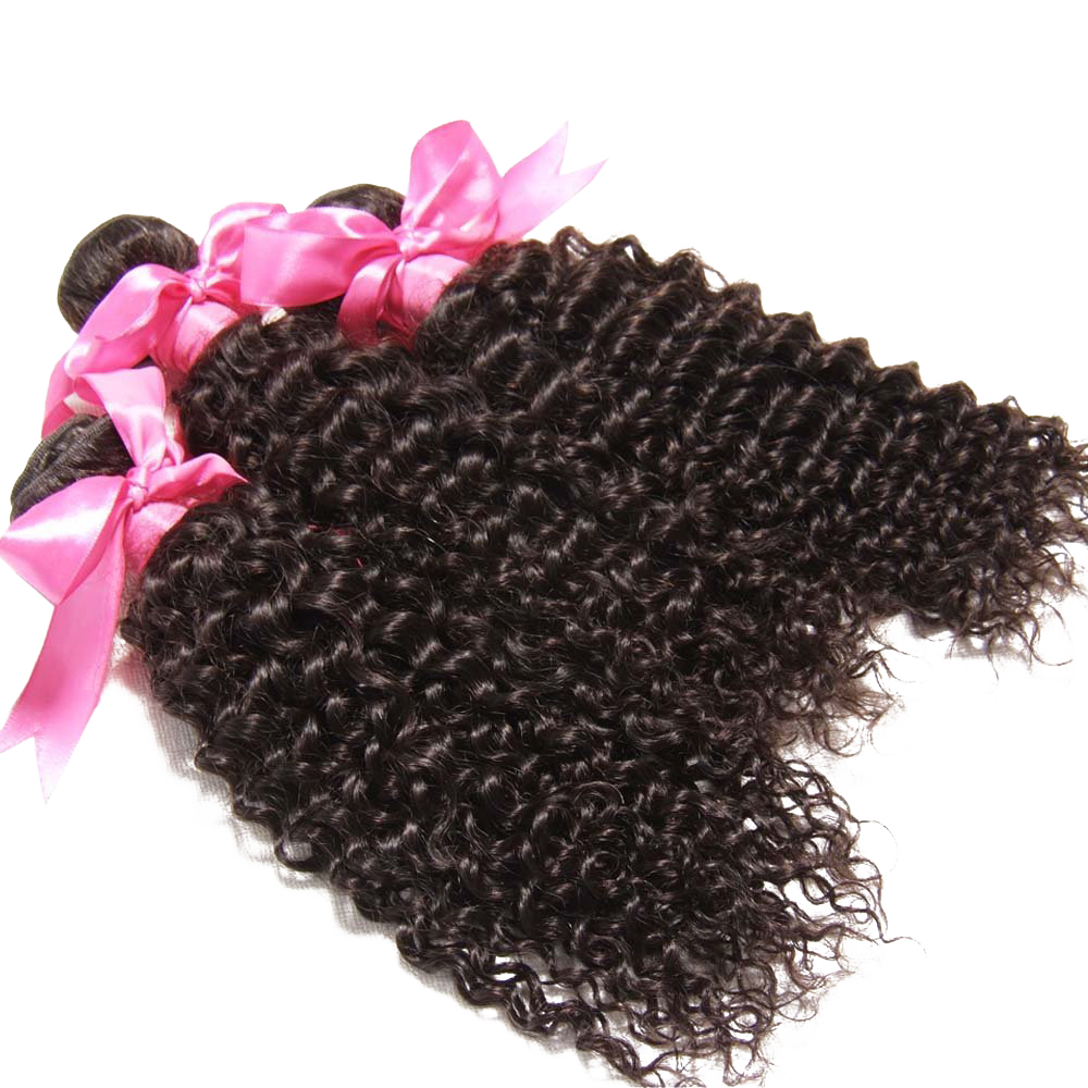 Bundles Brazilian Curly Virgin Hair Weave