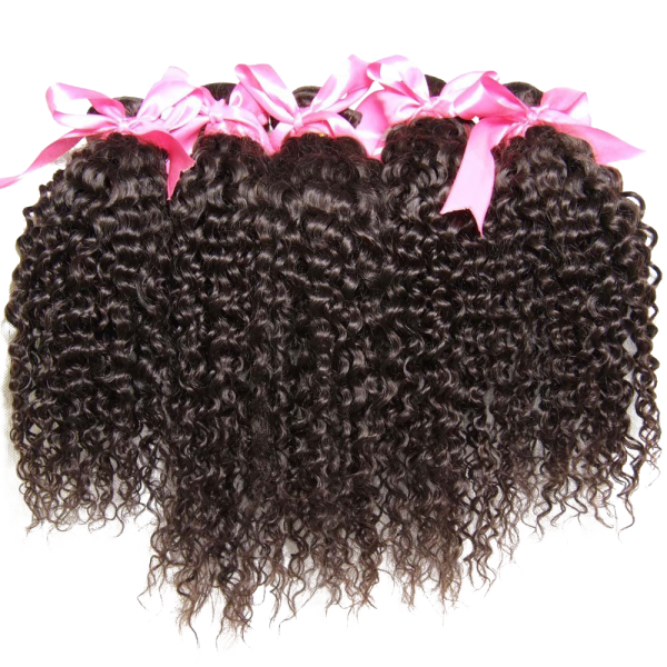 Bundles Brazilian Curly Virgin Hair Weave Unprocessed Human Hair Extensions Natural Color
