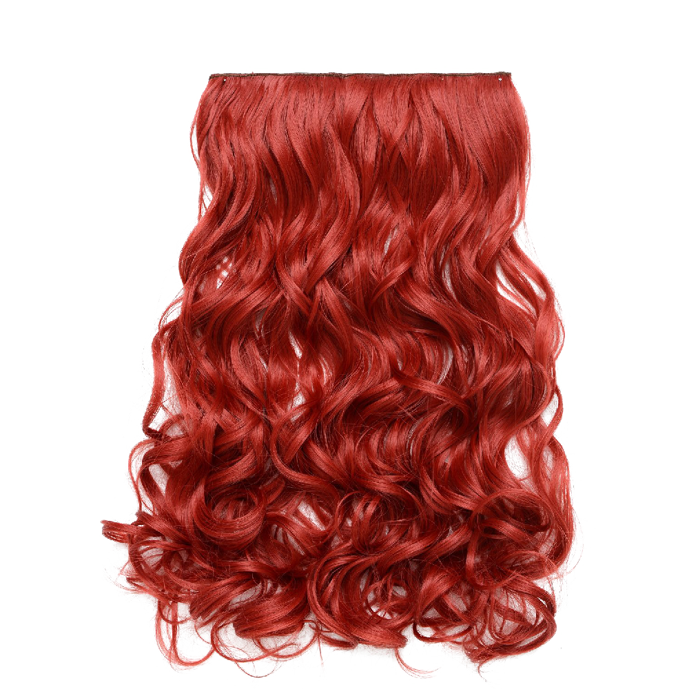 Onedor Curly Full Head Synthetic Hair Extensions